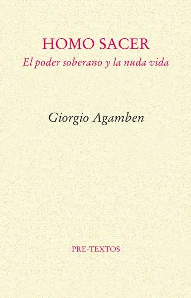 Homo Sacer de Giorgio Agamben